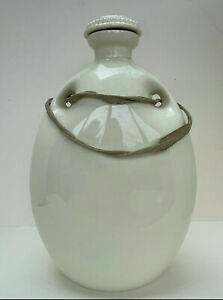 Vintage Grimwades Stoneware Hot Water Bottle With Screw Lid And Fabric Handle