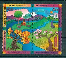 Nations Unies Vienne 1997 - Michel n. 226/29 -  Sommet Planète Terre