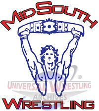Mid-South Wrestling DVD Set Volumes 32-36! 5 DVD's in Set! tling