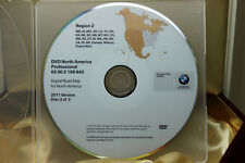 Genuine OEM BMW 1-Series 3-Series Navigation DVD Map # 843 *WEST* Update © 2011