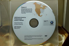 Genuine BMW X5 E70 X6 E71 Navigation DVD Map # 843 *WEST* U.S. Update © 2011 OEM