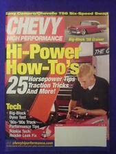 CHEVY HI PERFORMANCE - '55 CRUISER - May 2003
