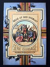 Vintage Imagerie Pellerin Belle au Bois Dormant Serie Ecossaise Book Inv1508
