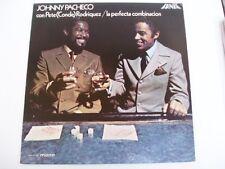 JOHNNY PACHECO con PETE RODRIGUEZ - FANIA LP