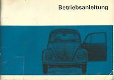 Volkswagen 1200 1300 1500 Betriebsanleitung  Istruzioni Tedesco 1968 Maggiolino