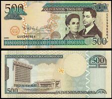 REPUBBLICA Dominicana 500 PESOS ORO (P179b) 2009 UNC