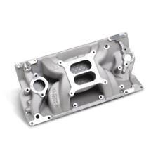 Weiand Intake Manifold 8502; Speed Warrior Satin for Chevy 5.0/5.7L Vortec