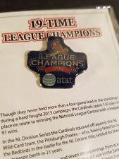 2013 ST. LOUIS CARDINALS - 19 TIME LEAGUE CHAMPIONS