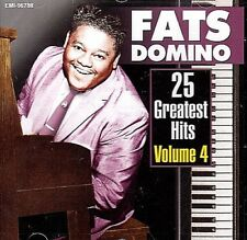 FATS DOMINO: 25 ORIG, HITS VOL. 4 .. MY GIRL JOSEPHINE, LET THE FOUR WINDS BLOW