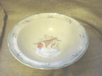 INTERNATIONAL CHINA MARMALADE  RIMMED VEGETABLE / SERVING BOWL  #8868  9-1/4 vtm