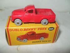 DINKY DUBLO No 065 MORRIS PICKUP TRUCK EXCELLENT PLUS IN EXCELLENT BOX