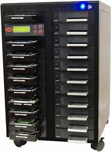"""SySTOR 1:20 SATA 3.5"""" 2.5"""" Hard Disk Drive HDD/SSD Duplicator Wiper - 300MB/sec"""