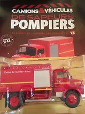 DÉVIDOIR AUTOMOBILE ROCHER / MERCEDES LAF 911 pompiers de la Somme N'73