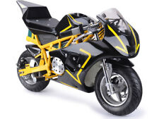 MotoTec 36v 500W Electric Pocket Bike GP Mini Motorcycle Kids YELLOW Scooter