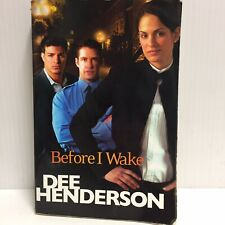 Before I Wake by Dee Henderson PB - Murder Mystery Fiction