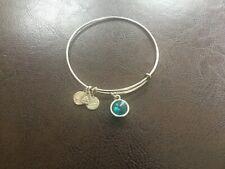Alex and Ani Blue Stone Bracelet