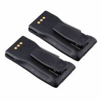 2 x 7.2V 1000mAh Battery for Motorola NNTN4496 CP150 CP160 CP180 CP200 PR400 US