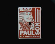 "Casino Dealer Holed Cancelled Deck of Playing Cards from ""Paragon Casino""  USED"