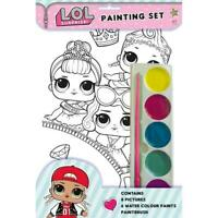 LOL Surprise! Painting Art Set Kids Crafting Boredom Buster 8 Pictures In Kit