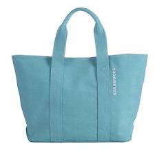 Starbucks Coffee Taiwan New Year Blue Canvas Tote Reusable Handbag FREE SHIPPING