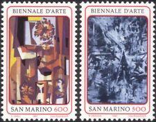 San Marino 1987 Contemporary Art/Modern/Abstract/Paintings/Artists 2v set n44926