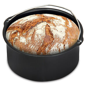 Brotbackkorb für Heißluftfritteuse Brotkorb Heißluftofen Zubehör 1,2 L Fritteuse