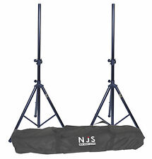 NJS 2 x Speaker Stand and Carry Bag Kit 2 x 35mm DJ Disco NJS063D