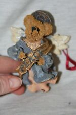 1995 The Boyds Collection Celestina Peace Angel Bear Christmas Ornament in Box