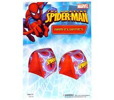 MARVEL SPIDER-MAN KIDS BOYS SWIMMING ARM FLOATS POOL ARMBANDS 3+