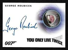 "James Bond Archives Final Edition Autograph A297 George Roubicek ""Very Limited"""