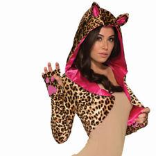Leopard Shrug Womens Adult Costume Accessory Standard Size NEW