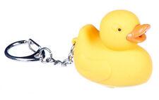 Quacking Duck Led Light Keyring Keychain