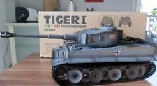 Torro RC Panzer Tiger 1 mit 2.4Ghz Metallwanne & Getriebe, IR mit RRZ + Metall..