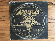 """Venom """"Welcome To Hell"""" (1981) Neat Records NEAT 1002"""