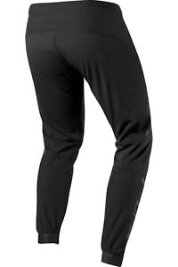 FOX Defend Fire Pant Soft Shell Trousers Windproof, Water Resistant, Black, MTB