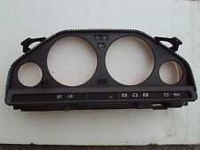 Bmw E30 Instrument Cluster Housing With Tabs VDO with coding plug