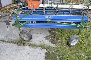 Bandrechen MOLON Heckanbau Traktor 210 cm Breite Bj. 2009