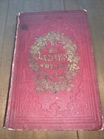 1852 BOOK THE LADIES' WREATH AN ILLUSTRATED ANNUAL EDITED BY HELEN IRVING H/C