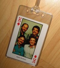 Statler Brothers Luggage Tag - Vintage 1980's Country Music Western Playing Card