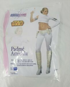 Secret Wishes Star Wars Padme Amidala Costume White X-Small New Other