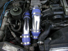 CXRACING INTERCOOLER PIPING KIT WITH BLUE COUPLERS FOR 90-96 NISSAN 300ZX Z32