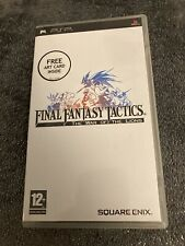 Final Fantasy Tactics: The War Of The Lions - Sony PSP (PlayStation Portable)