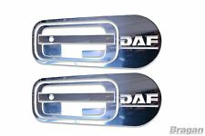 To Fit DAF XF 95 105 106 10pc Door Handle Cover Set Stainless Steel Chrome Trim