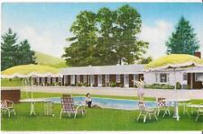 "Cardinal Motel BOONE NORTH CAROLINA NC Near ""Horn In The West"" Vintage Postcard"