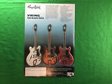 HAGSTROM VIKING Semi-Guitare acoustique vintage pub