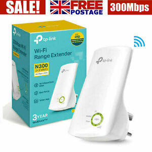TP LINK WiFi Range Extender Internet Signal Booster Wireless Repeater Universal