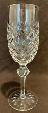 "Waterford Crystal Powerscourt Champagne Flute Glass Sold Individually 8 1/8"" H"