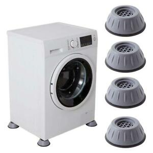 4Pcs Shock And Noise Cancelling Washing Machine Support Noise Reduction Feet Pad
