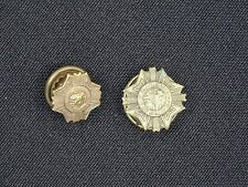 PAIR of  VTG  VETERANS of FOREIGN WARS of THE UNITED STATE PINS ~ 15 mm / 12 mm