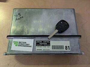 Lexus IS300 2jz Ecu 89661-53480 With 1 Uncut Master Key